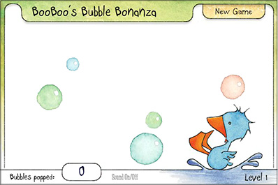 BooBoo's Bubble Bonanza