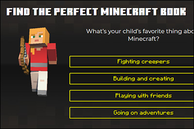 Find the Perfect Minecraft Book