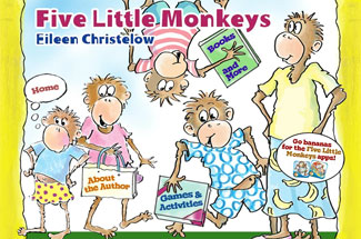 Five Little Monkeys website