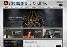 George R.R. Martin website