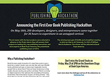 Publishing Hackathon