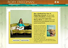 Rory Freedman website