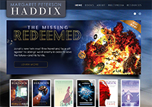 Margaret Peterson Haddix website