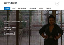 Chesya Burke website