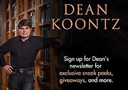 Dean Koontz Newsletter Ad