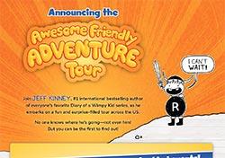 Jeff Kinney's Awesome Friendly Adventure Tour